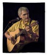 Musician And Songwriter Verlon Thompson Fleece Blanket