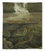 Muskellunge Fleece Blanket