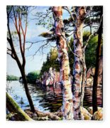 Muskoka Reflections Fleece Blanket