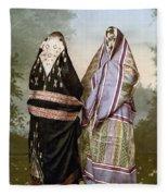 Muslim Women, C1895 Fleece Blanket