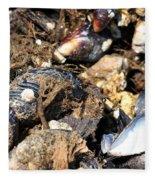 Mussels Fleece Blanket