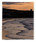 Mussenden Sunset Fleece Blanket