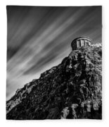 Mussenden Temple - On The Edge Fleece Blanket