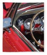 Mustang Classic Interior Fleece Blanket
