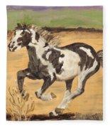 Mustang Fleece Blanket
