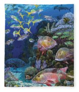 Mutton Reef Re002 Fleece Blanket
