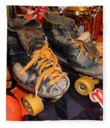 My Battle Scarred Roller Derby Skates  Fleece Blanket