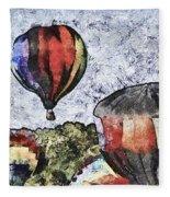 My Beautiful Balloon Fleece Blanket