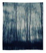 My Dark Forest Fleece Blanket