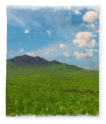 My Earth Our Earth... Fleece Blanket