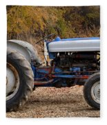 My Faithful Tractor Fleece Blanket
