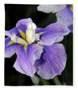 My Iris II Fleece Blanket