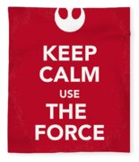 My Keep Calm Star Wars - Rebel Alliance-poster Fleece Blanket