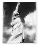 My Lady Liberty Fleece Blanket