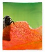 My Leaf Fleece Blanket