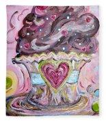 My Lil Cupcake - Chocolate Delight Fleece Blanket