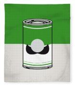 My Mario Warhols Minimal Can Poster-luigi Fleece Blanket