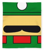 My Mariobros Fig 02 Minimal Poster Fleece Blanket