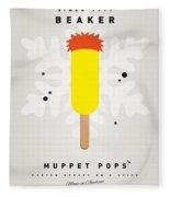 My Muppet Ice Pop - Beaker Fleece Blanket