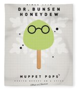 My Muppet Ice Pop - Dr Bunsen Honeydew Fleece Blanket