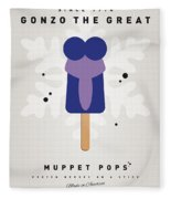 My Muppet Ice Pop - Gonzo Fleece Blanket