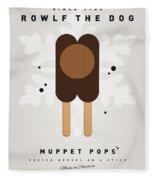 My Muppet Ice Pop - Rowlf Fleece Blanket