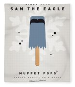 My Muppet Ice Pop - Sam The Eagle Fleece Blanket