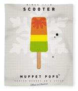 My Muppet Ice Pop - Scooter Fleece Blanket