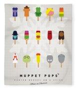 My Muppet Ice Pop - Univers Fleece Blanket