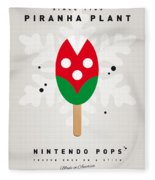My Nintendo Ice Pop - Piranha Plant Fleece Blanket