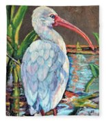 My One And Only Egret Fleece Blanket