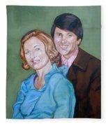 My Parents Fleece Blanket