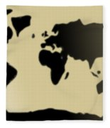 My #3 Simple World Fleece Blanket