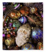 My Special Christmas Ornaments Fleece Blanket