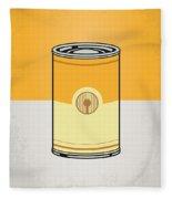 My Star Warhols 3cpo Minimal Can Poster Fleece Blanket