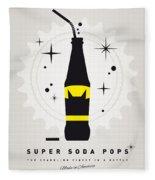 My Super Soda Pops No-07 Fleece Blanket