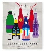 My Super Soda Pops No-27 Fleece Blanket