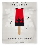 My Superhero Ice Pop - Hellboy Fleece Blanket