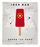 My Superhero Ice Pop - Iron Man Fleece Blanket