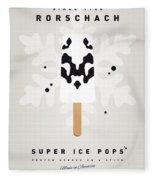 My Superhero Ice Pop - Rorschach Fleece Blanket