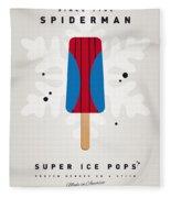My Superhero Ice Pop - Spiderman Fleece Blanket