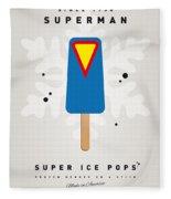 My Superhero Ice Pop - Superman Fleece Blanket