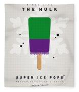 My Superhero Ice Pop - The Hulk Fleece Blanket