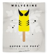 My Superhero Ice Pop - Wolverine Fleece Blanket