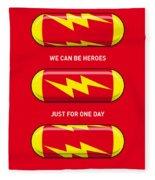 My Superhero Pills - The Flash Fleece Blanket