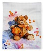 My Teddy Bear  Fleece Blanket