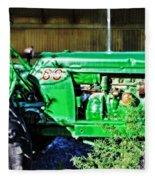 My Tractor Fleece Blanket