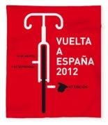 My Vuelta A Espana Minimal Poster Fleece Blanket