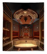 Myerson Symphony Center Auditorium - Dallas Fleece Blanket