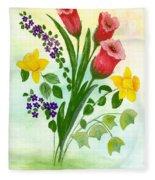 Myriad Colors Fleece Blanket